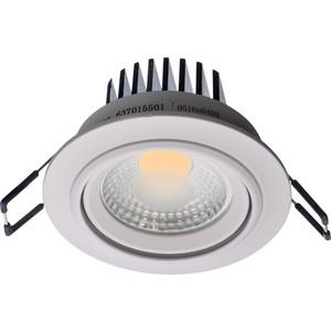 Встраиваемый светодиодный светильник De Markt 637015501
