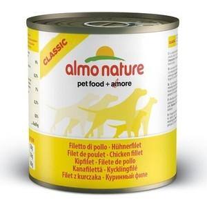 Консервы Almo Nature Classic Adult Dog with Chicken Fillet с куриным филе для собак 95г (0769)