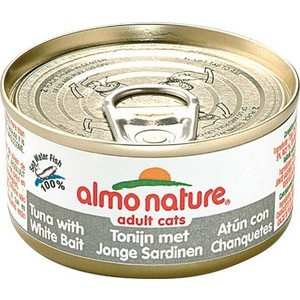Консервы Almo Nature Classic Adult Cat with Tuna and White Bait с тунцом и сардинками для кошек 140г (0523) almo nature almo nature classic adult cat cuisine tuna