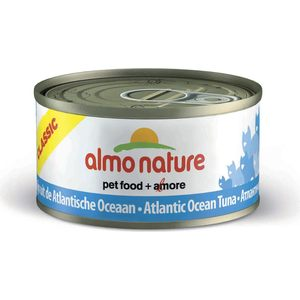 Консервы Almo Nature Classic Adult Cat with Atlantic Tuna с атлантическим тунцом для кошек 140г (1032) almo nature almo nature classic adult cat cuisine tuna