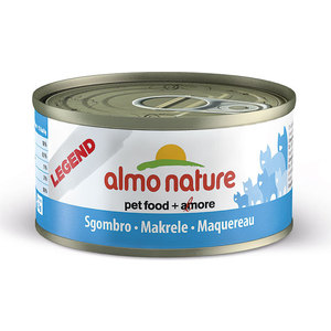 Консервы Almo Nature Legend Adult Cat with Mackerel с макрелью для кошек 70г (4175) консервы almo nature alternative для кошек с куриной грудкой 55 г