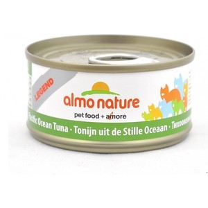 Консервы Almo Nature Legend Adult Cat with Pacific Tuna с тихоокеанским тунцом для кошек 70г (1020) almo nature almo nature legend adult cat tuna