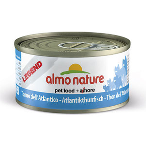 Консервы Almo Nature Legend Adult Cat with Atlantic Tuna с атлантическим тунцом для кошек 70г (4076) паучи almo nature classic in jelly adult cat with tuna and sole fish с тунцом и камбалой в желе для кошек 70г 1117