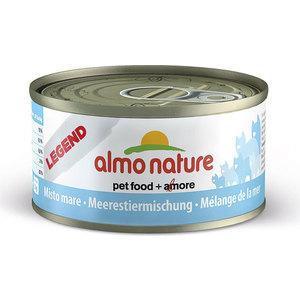 Консервы Almo Nature Legend Adult Cat with Mixed Seafood с морепродуктами для кошек 70г (7633)