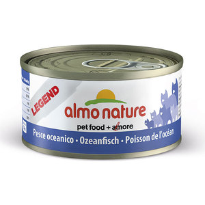 Консервы Almo Nature Legend Adult Cat with Oceanic Fish с океанической рыбой для кошек 70г (7602) almo nature almo nature daily menu adult cat mousse oceanic fish 85 г х 24 шт