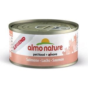 Консервы Almo Nature Legend Adult Cat with Salmon and Carrot с лососем для кошек 70г (1006) влажный корм для кошек almo nature classic adult cat with salmon and pumpkin 0 055 кг