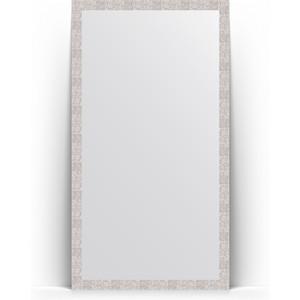 Зеркало напольное Evoform Definite Floor 108x197 см, в багетной раме - соты алюминий 70 мм (BY 6017)