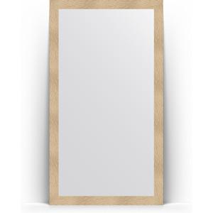 Зеркало напольное Evoform Definite Floor 111x201 см, в багетной раме - золотые дюны 90 мм (BY 6019) зеркало напольное поворотное evoform definite floor 111x201 см в багетной раме волна хром 90 мм by 6023