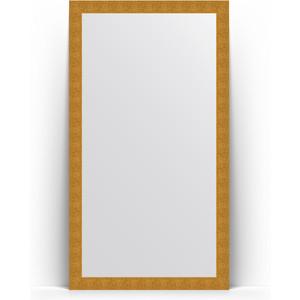 Зеркало напольное Evoform Definite Floor 111x201 см, в багетной раме - чеканка золотая 90 мм (BY 6020) зеркало напольное поворотное evoform definite floor 111x201 см в багетной раме волна хром 90 мм by 6023