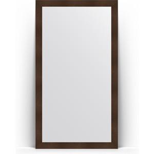 Зеркало напольное Evoform Definite Floor 111x201 см, в багетной раме - бронзовая лава 90 мм (BY 6022) фото