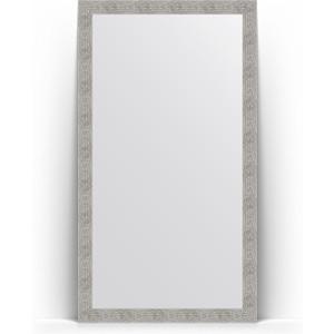 Зеркало напольное Evoform Definite Floor 111x201 см, в багетной раме - волна хром 90 мм (BY 6023) зеркало напольное поворотное evoform definite floor 111x201 см в багетной раме волна хром 90 мм by 6023