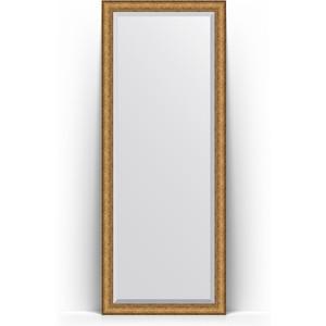 Зеркало напольное с фацетом Evoform Exclusive Floor 79x198 см, в багетной раме - медный эльдорадо 73 мм (BY 6106) зеркало с фацетом в багетной раме поворотное evoform exclusive 74x164 см медный эльдорадо 73 мм by 1303