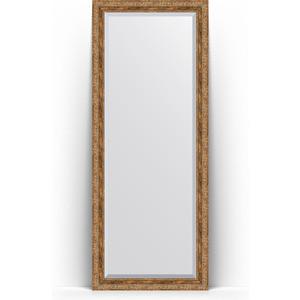 Зеркало напольное с фацетом Evoform Exclusive Floor 80x200 см, в багетной раме - виньетка античная бронза 85 мм (BY 6114)