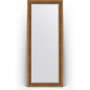 Зеркало напольное с фацетом Evoform Exclusive Floor 82x202 см, в багетной раме - бронзовый акведук 93 мм (BY 6122)