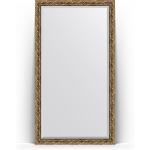 Зеркало напольное с фацетом Evoform Exclusive Floor 111x200 см, в багетной раме - фреска 84 мм (BY 6151)
