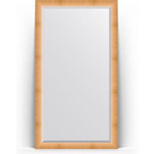 Зеркало напольное с фацетом Evoform Exclusive Floor 111x201 см, в багетной раме - травленое золото 87 мм (BY 6156) зеркало с фацетом в багетной раме evoform exclusive 46x56 см травленое золото 87 мм by 1363