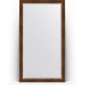 Зеркало напольное с фацетом Evoform Exclusive Floor 111x201 см, в багетной раме - римская бронза 88 мм (BY 6159) adv an tech pca 6159 rev a3 no board