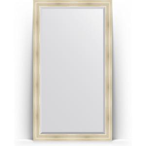 Зеркало напольное с фацетом Evoform Exclusive Floor 114x204 см, в багетной раме - травленое серебро 99 мм (BY 6168) printio кабан