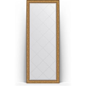 Зеркало напольное с гравировкой Evoform Exclusive-G Floor 79x198 см, в багетной раме - медный эльдорадо 73 мм (BY 6306)