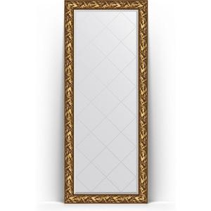 Фото - Зеркало напольное с гравировкой поворотное Evoform Exclusive-G Floor 84x203 см, в багетной раме - византия золото 99 мм (BY 6324) зеркало напольное с гравировкой поворотное evoform exclusive g floor 114x204 см в багетной раме травленое золото 99 мм by 6367