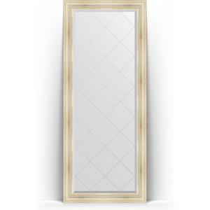 Фото - Зеркало напольное с гравировкой поворотное Evoform Exclusive-G Floor 84x204 см, в багетной раме - травленое серебро 99 мм (BY 6328) зеркало напольное с гравировкой поворотное evoform exclusive g floor 114x204 см в багетной раме травленое золото 99 мм by 6367
