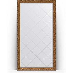 Зеркало напольное с гравировкой Evoform Exclusive-G Floor 110x200 см, в багетной раме - виньетка бронзовая 85 мм (BY 6352) зеркало напольное с фацетом evoform exclusive floor 110x200 см в багетной раме виньетка античная бронза 85 мм by 6154