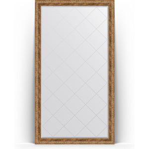 Зеркало напольное с гравировкой Evoform Exclusive-G Floor 110x200 см, в багетной раме - виньетка античная бронза 85 мм (BY 6354)