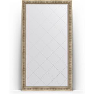 Зеркало напольное с гравировкой Evoform Exclusive-G Floor 112x202 см, в багетной раме - серебряный акведук 93 мм (BY 6361) original ni pxie 6361