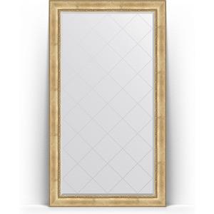Зеркало напольное с гравировкой Evoform Exclusive-G Floor 117x207 см, в багетной раме - состаренное серебро с орнаментом 120 мм (BY 6378) зеркало evoform exclusive g floor 207х87 состаренное серебро с орнаментом