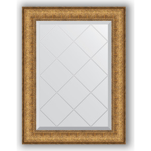 Зеркало с гравировкой поворотное Evoform Exclusive-G 54x71 см, в багетной раме - медный эльдорадо 73 мм (BY 4008)