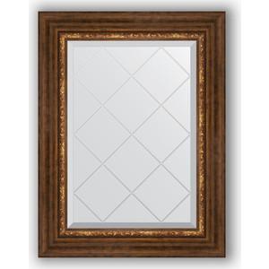 Зеркало с гравировкой поворотное Evoform Exclusive-G 56x74 см, в багетной раме - римская бронза 88 мм (BY 4019) зеркало с гравировкой поворотное evoform exclusive g 56x74 см в багетной раме римское золото 88 мм by 4017