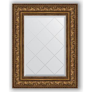 Зеркало с гравировкой поворотное Evoform Exclusive-G 60x78 см, в багетной раме - виньетка состаренная бронза 109 мм (BY 4040) зеркало в багетной раме поворотное evoform definite 54x104 см виньетка состаренная бронза 56 мм by 3073
