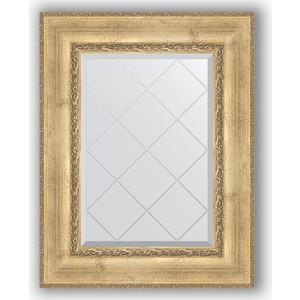 Зеркало с гравировкой поворотное Evoform Exclusive-G 62x80 см, в багетной раме - состаренное серебро с орнаментом 120 мм (BY 4041) цены