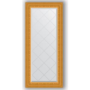 Зеркало с гравировкой поворотное Evoform Exclusive-G 55x124 см, в багетной раме - сусальное золото 80 мм (BY 4052)