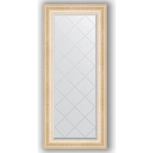 Зеркало с гравировкой поворотное Evoform Exclusive-G 55x124 см, в багетной раме - старый гипс 82 мм (BY 4054)