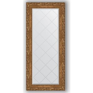 Зеркало с гравировкой поворотное Evoform Exclusive-G 55x125 см, в багетной раме - виньетка бронзовая 85 мм (BY 4056)