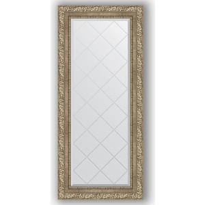 Зеркало с гравировкой поворотное Evoform Exclusive-G 55x125 см, в багетной раме - виньетка античное серебро 85 мм (BY 4057) фото