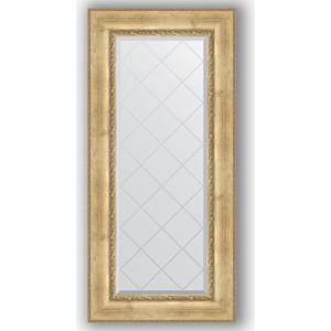 Зеркало с гравировкой поворотное Evoform Exclusive-G 62x132 см, в багетной раме - состаренное серебро орнаментом 120 мм (BY 4084)