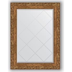 Зеркало с гравировкой поворотное Evoform Exclusive-G 65x87 см, в багетной раме - виньетка бронзовая 85 мм (BY 4099)
