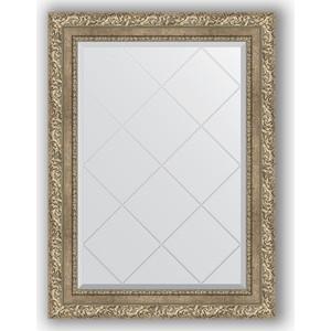 Зеркало с гравировкой поворотное Evoform Exclusive-G 65x87 см, в багетной раме - виньетка античное серебро 85 мм (BY 4100) зеркало с гравировкой поворотное evoform exclusive g 95x120 см в багетной раме виньетка античное серебро 85 мм by 4358