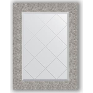 Зеркало с гравировкой поворотное Evoform Exclusive-G 66x89 см, в багетной раме - чеканка серебряная 90 мм (BY 4109)