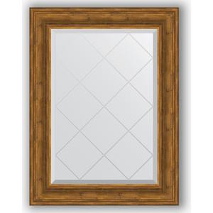 Зеркало с гравировкой поворотное Evoform Exclusive-G 69x91 см, в багетной раме - травленая бронза 99 мм (BY 4118) зеркало с гравировкой поворотное evoform exclusive g 69x91 см в багетной раме травленая бронза 99 мм by 4118