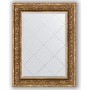 Зеркало с гравировкой поворотное Evoform Exclusive-G 69x91 см, в багетной раме - вензель бронзовый 101 мм (BY 4120) зеркало с гравировкой поворотное evoform exclusive g 69x91 см в багетной раме вензель бронзовый 101 мм by 4120