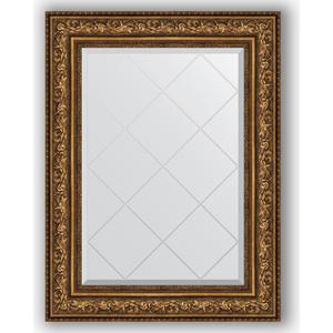 Зеркало с гравировкой поворотное Evoform Exclusive-G 70x93 см, в багетной раме - виньетка состаренная бронза 109 мм (BY 4126) зеркало в багетной раме поворотное evoform definite 54x104 см виньетка состаренная бронза 56 мм by 3073