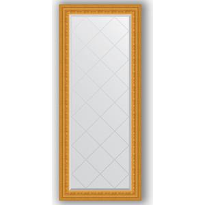 Зеркало с гравировкой поворотное Evoform Exclusive-G 65x154 см, в багетной раме - сусальное золото 80 мм (BY 4138) зеркало с гравировкой поворотное evoform exclusive g 130x184 см в багетной раме сусальное золото 80 мм by 4482