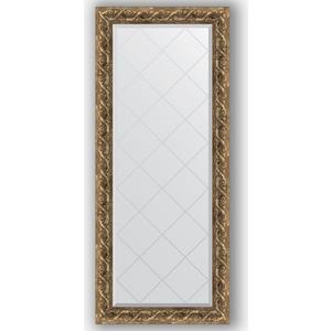 Зеркало с гравировкой поворотное Evoform Exclusive-G 66x155 см, в багетной раме - фреска 84 мм (BY 4141)