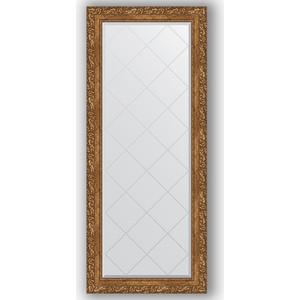 Зеркало с гравировкой поворотное Evoform Exclusive-G 65x155 см, в багетной раме - виньетка бронзовая 85 мм (BY 4142)