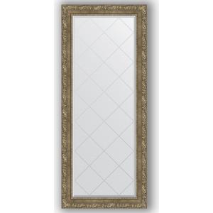 Зеркало с гравировкой поворотное Evoform Exclusive-G 65x155 см, в багетной раме - виньетка античная латунь 85 мм (BY 4145) зеркало evoform exclusive g 185х130 виньетка античная латунь