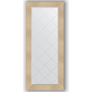 Зеркало с гравировкой поворотное Evoform Exclusive-G 66x156 см, в багетной раме - золотые дюны 90 мм (BY 4150)