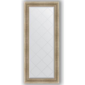 Зеркало с гравировкой поворотное Evoform Exclusive-G 67x157 см, в багетной раме - серебряный акведук 93 мм (BY 4153) зеркало с фацетом в багетной раме поворотное evoform exclusive 67x157 см серебряный акведук 93 мм by 1288